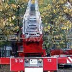 Автолестница пожарная АЛ-30 (Урал 43206)