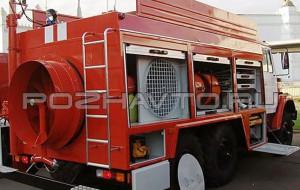 Автомобиль дымоудаления АД-120 (ЗИЛ-4334)