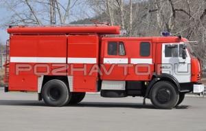 Автомобиль насосно-рукавный АНР-40-1400 (КамАЗ-43253)