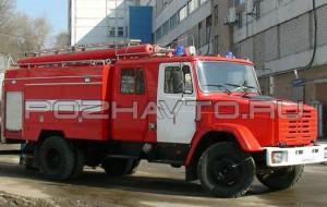 Автомобиль насосно-рукавный АНР-40-1500 (ЗИЛ-4331)