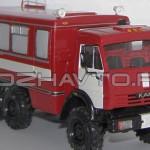 Автомобиль связи и освещения АСО-20 (КамАЗ-4208)