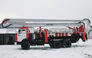 Автоподъемник пожарный АКП-28 (КамАЗ-43114)
