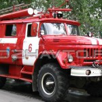 Автоцистерна пожарная АЦ 2,5-40 (Амур-5313)