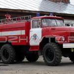 Автоцистерна пожарная АЦ 3,0-40 (Амур-5313)