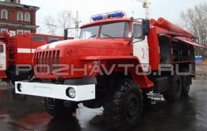 Пожарная насосная станция ПНС-100 (Урал-5557)