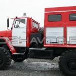 Пожарная насосная станция ПНС-110 (Урал-5557)