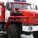 Пожарная насосная станция ПНС-110 (Урал-55571)