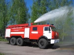 Современные пожарные машины