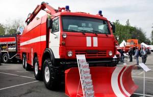 Бронированная пожарная машина