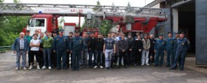 Пожарные из Тулы провели день открытых дверей