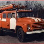 Автомобиль насосно-рукавный АНР-40(130) модель 127Б