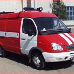 Автомобиль порошкового тушения АППП-250 (2705) модель 277
