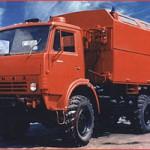 Автомобиль пожарный рукавный АР-2(43105) модель 215