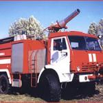 Автоцистерна пожарная аэродромная АЦА-40/4(43118) модель 248