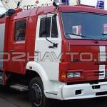Автоцистерна пожарная АЦ 3,2-40 (КАМАЗ-4308)-1