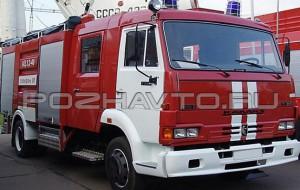Автоцистерна пожарная АЦ 3,2-40 (КАМАЗ-4308)