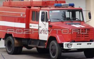 Автоцистерна пожарная АЦ 3,2-40 (ЗИЛ-4331)