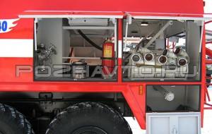 Автоцистерна пожарная АЦ 3,5-40 (Амур-531340)