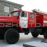 Автоцистерна пожарная АЦ 3,0-40 (Урал 43206)