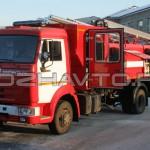Автоцистерна пожарная АЦ 4,0-40 (КамАЗ-4308)-1