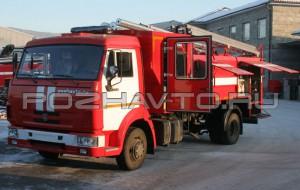 Автоцистерна пожарная АЦ 4,0-40 (КамАЗ-4308)