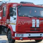 Автоцистерна пожарная АЦ 4,0-40 (КамАЗ-4308)-3