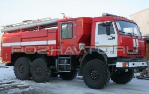 Автоцистерна пожарная АЦ 4,0-40 (КамАЗ-43114)
