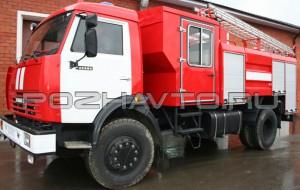 Автоцистерна пожарная АЦ 4,0-40 (КамАЗ-43253)