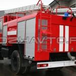 Автоцистерна пожарная АЦ 4,0-40 (КамАЗ-43253) - 2