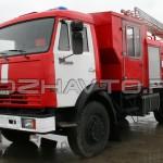 Автоцистерна пожарная АЦ 4,0-40 (КамАЗ-43253) - 4