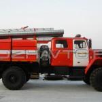 Автоцистерна пожарная АЦ 4,0-40 (Урал 43206)-1