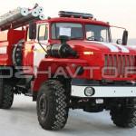 Автоцистерна пожарная АЦ 4,0-40 (Урал 43206)-2
