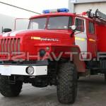 Автоцистерна пожарная АЦ 4,0-40 (Урал 43206)-3