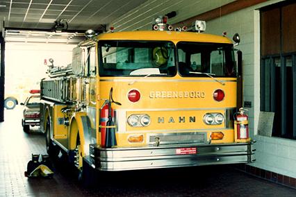 Пожарный автомобиль Hahn
