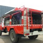 Автоцистерна пожарная АЦ-1,6-40 (ГАЗ 33086) - 5