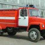 Автоцистерна пожарная АЦ-1,6-600 (ГАЗ 33086)