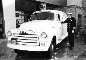 Джек Китер из спасательной команды 1961 года