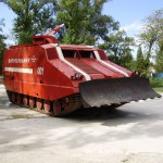 ГПМ-64 (гусеничная пожарная машина) 1