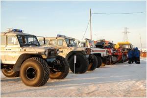 Пожарно-спасательные центры будут построены в Арктике