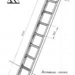 Лестница палка 3