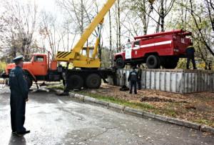 Памятник пожарному автомобилю на базе ЗИЛ-130 установят в Кирове