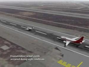 Столкновение двух самолетов в Лос-Анджелеса