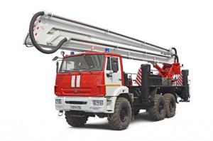 Автомобильный коленчатый пожарный подъемник АКП-28 (5350)