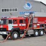 Пожарный насосно-рукавный автомобиль АНР-4-1,2-130-7