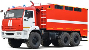 Пожарный рукавный автомобиль АР-2 (КАМАЗ-5350)