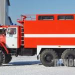 Пожарный рукавный автомобиль АР-2 (УРАЛ-5557)-1