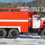 Пожарный рукавный автомобиль АР-2 (УРАЛ-5557)-2