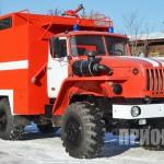 Пожарный рукавный автомобиль АР-2 (УРАЛ-5557)-3