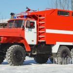 Пожарный рукавный автомобиль АР-2 (УРАЛ-5557)-5