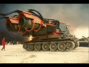 Самая мощная пожарная машина в мире - Большой Ветер